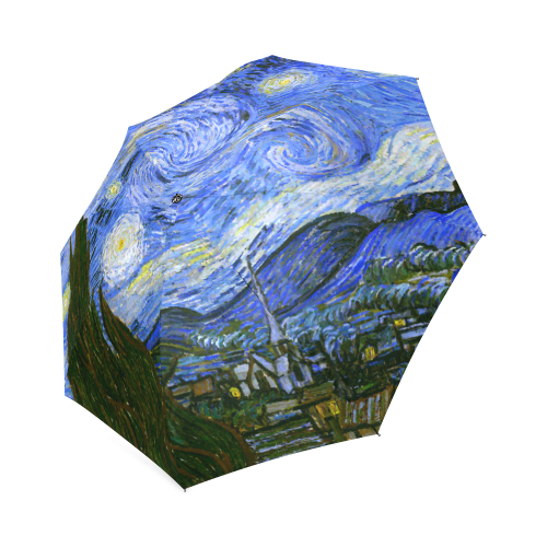 Van Gogh Starry Night Foldable Umbrella