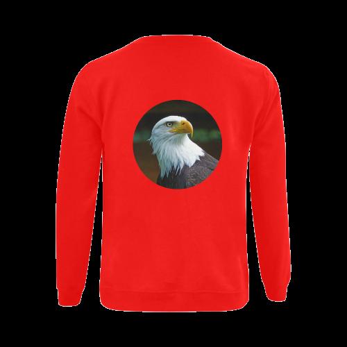 Bald Eagle Head 002 03 Gildan Crewneck Sweatshirt(NEW) (Model H01)