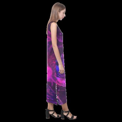 stars HEVELIUS PEGASUS Phaedra Sleeveless Open Fork Long Dress (Model D08)