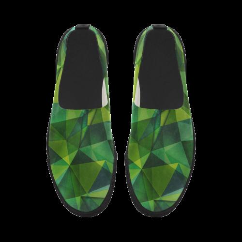 texture 2 Apus Slip-on Microfiber Women's Shoes (Model 021)