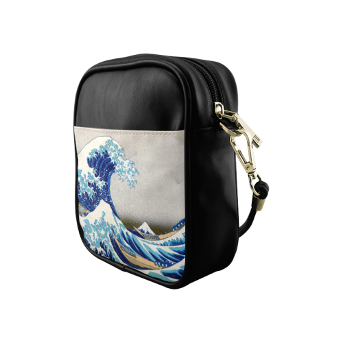 Great Wave Off Kanagawa Hokusai Sling Bag (Model 1627)