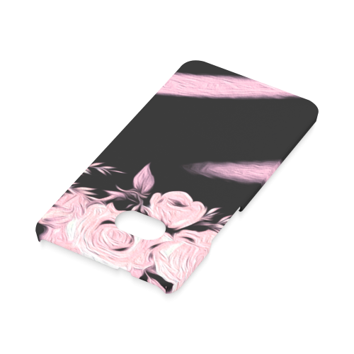 Pink Roses Hard Case for HTC ONE M7 3D