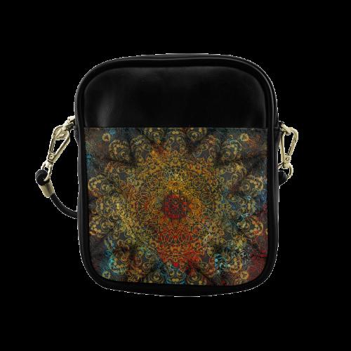 magic mandala Sling Bag (Model 1627)
