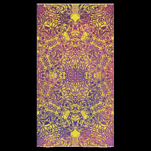 """magic mandala Bath Towel 30""""x56"""""""
