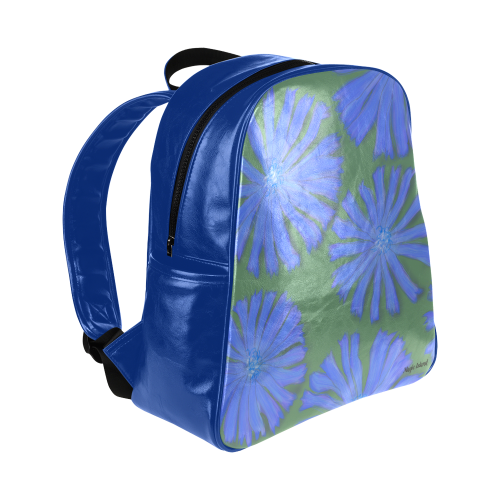 Chicory. Inspired by the Magic Island of Gotland. Multi-Pockets Backpack (Model 1636)
