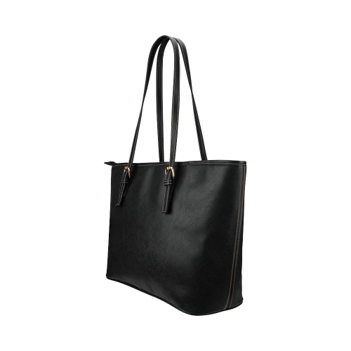 Wednesday Large Leather Tote Leather Tote Bag/Large (Model 1651)