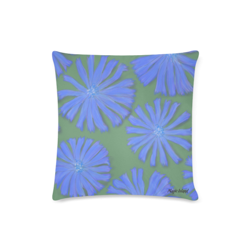 "Chicory. Inspired by the Magic Island of Gotland. Custom Zippered Pillow Case 16""x16""(Twin Sides)"