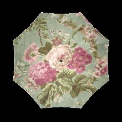 Beautiful Vintage Floral Wallpaper Foldable Umbrella