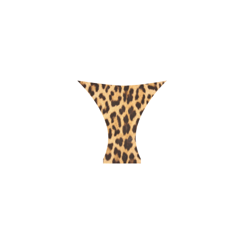 Leopard Skin Custom Bikini Swimsuit