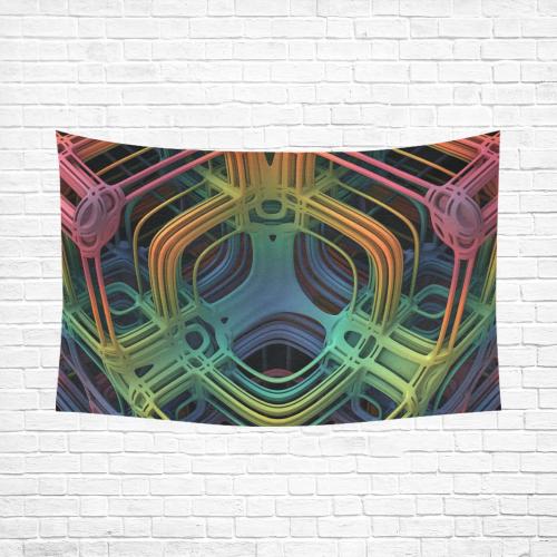 """3-D Deep View Cotton Linen Wall Tapestry 90""""x 60"""""""