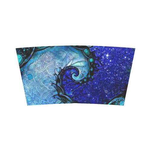 55f3adba7e4 ... Scorpio Spiral Blue Tube Top -- Nocturne of Scorpio Fractal Astrology  Bandeau Top