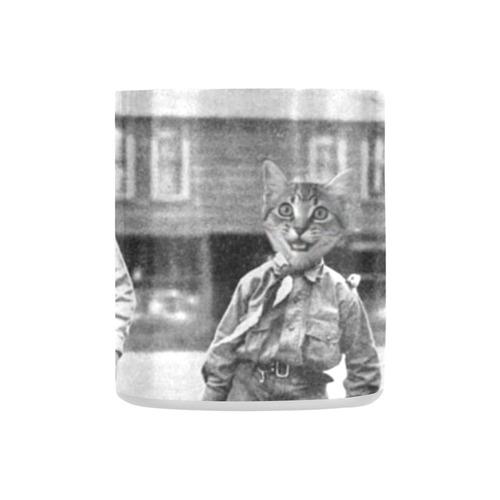 Cat Scouts Vintage Service Cats Mug Classic Insulated Mug(10.3OZ)