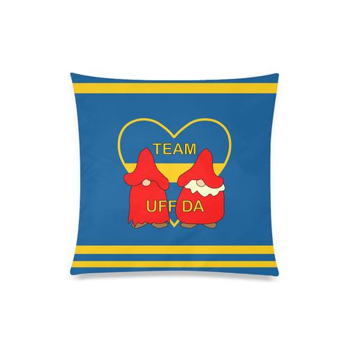 "Team Uff Da Swedish Uff Da Gnomes Tomte Nisser Custom Zippered Pillow Case 20""x20""(Twin Sides)"