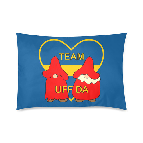 "Team Uff Da Swedish Uff Da Gnomes Tomte Nisser Custom Zippered Pillow Cases 20""x30""(Twin Sides)"