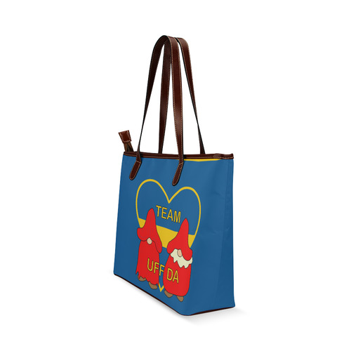 Team Uff Da Swedish Uff Da Gnomes Tomte Nisser Shoulder Tote Bag (Model 1646)