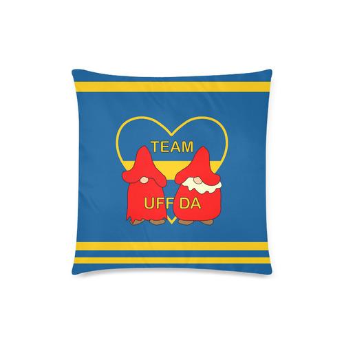 "Team Uff Da Swedish Uff Da Gnomes Tomte Nisser Custom Zippered Pillow Case 18""x18""(Twin Sides)"