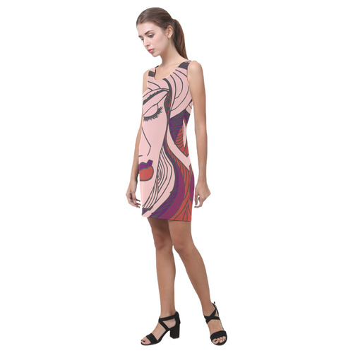 Beauty Illustration Medea Vest Dress (Model D06)