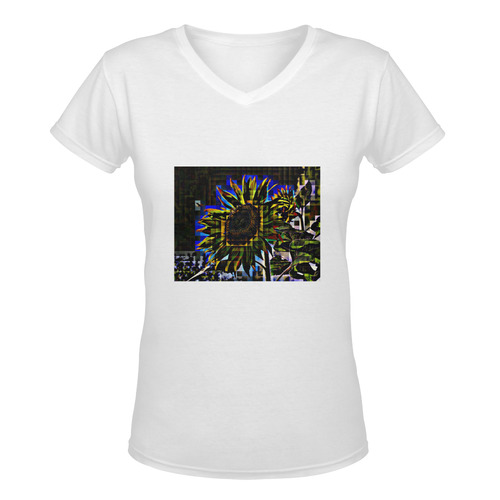 VELA Women's Deep V-neck T-shirt (Model T19)