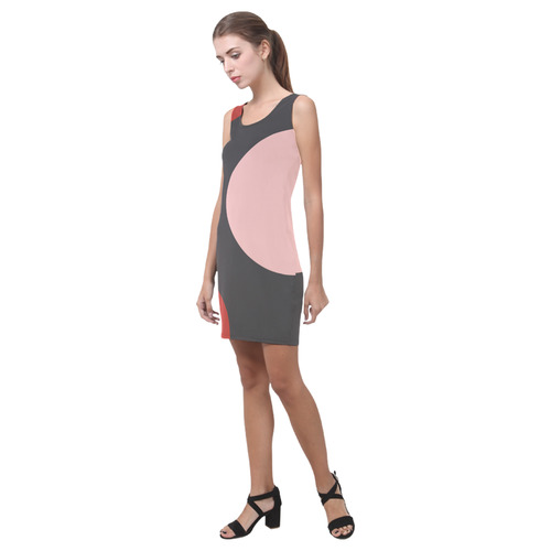 Circled Medea Vest Dress (Model D06)