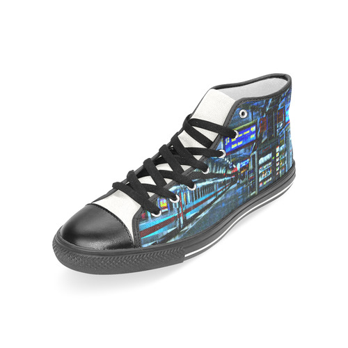 VELA Women's Classic High Top Canvas Shoes (Model 017)