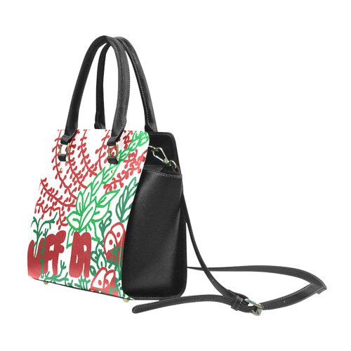 UFFDA Tangle Flower Garden Classic Shoulder Handbag (Model 1653)