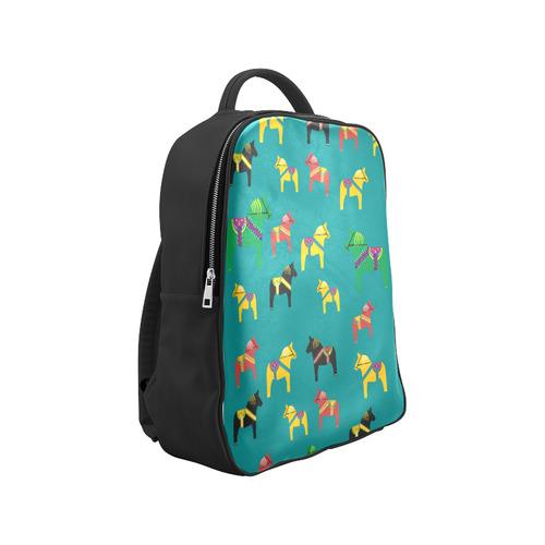Dala Horses Decorative and Cute Popular Backpack (Model 1622)