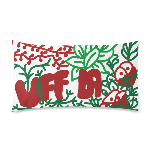 "Uff Da Tangle Garden Rectangle Pillow Case 20""x36""(Twin Sides)"