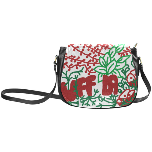 Uff Da Tangle Garden Classic Saddle Bag/Small (Model 1648)