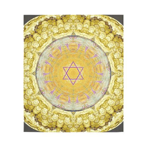 "Jerusalem 8 Cotton Linen Wall Tapestry 51""x 60"""