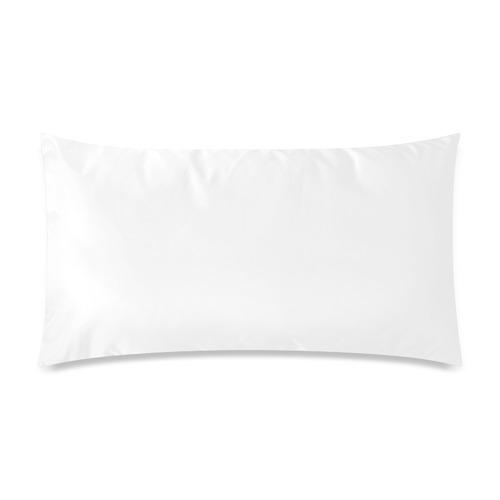 "Uff Da Tangle Garden Pink Blue Black Custom Rectangle Pillow Cases 20""x36"" (one side)"