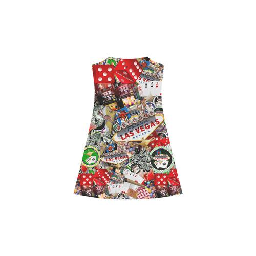 Las Vegas Icons - Gamblers Delight Alcestis Slip Dress (Model D05)