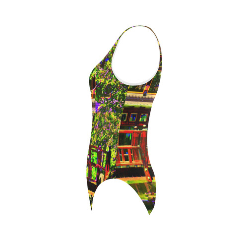 VELA Vest One Piece Swimsuit (Model S04)