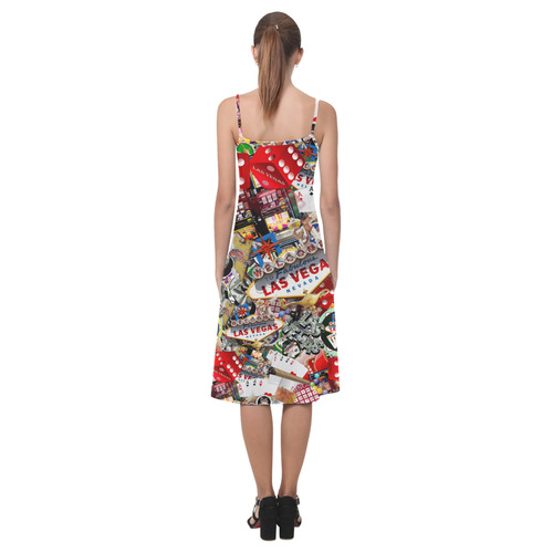 Las Vegas Icons - Gamblers Delight Alcestis Slip Dress (Model D05)