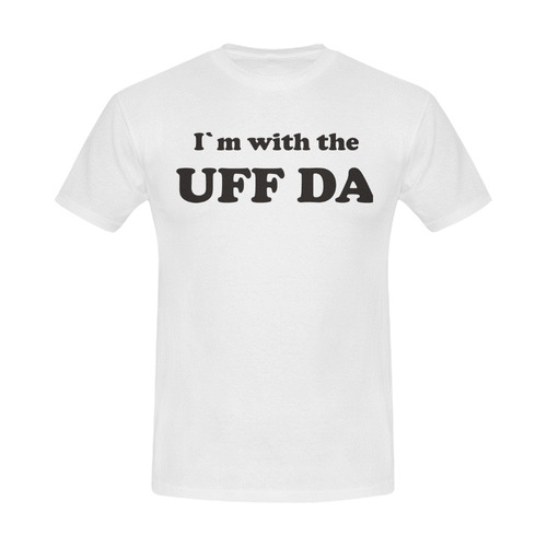 I'm with the UFF DA Men's Slim Fit T-shirt (Model T13)