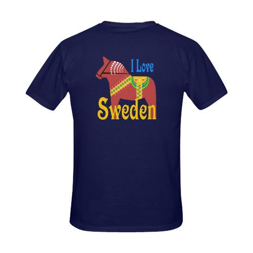 Dalahorse Sweden Men's Slim Fit T-shirt (Model T13)