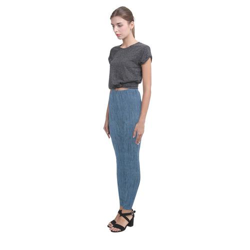 Denim-Look - Jeans Cassandra Women's Leggings (Model L01)
