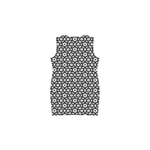 Lace20160912 Phoebe Sleeveless V-Neck Dress (Model D09)