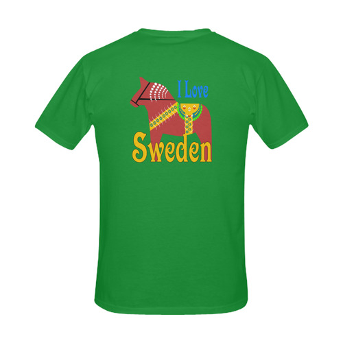 Dalahorse Sweden Men's Slim Fit T-shirt (Model T13)