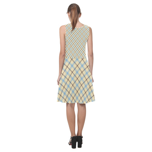 Plaid 2 Atalanta Casual Sundress(Model D04)