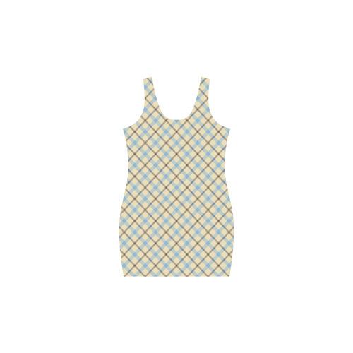 Plaid 2 Medea Vest Dress (Model D06)