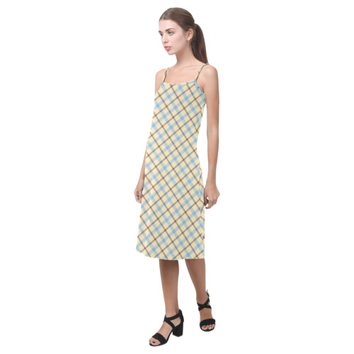 Plaid 2 Alcestis Slip Dress (Model D05)
