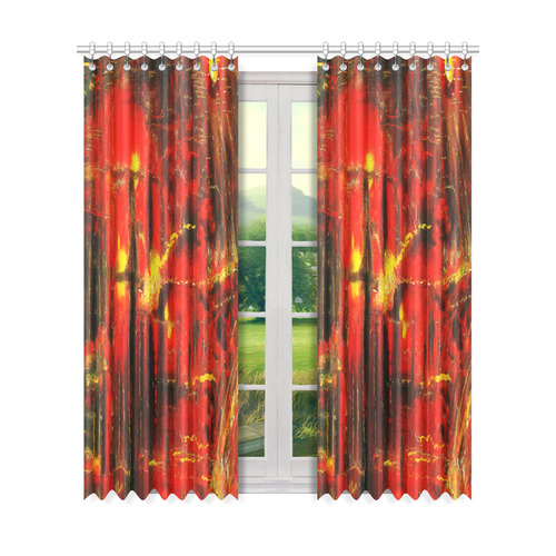 "VELA Window Curtain 50"" x 84""(One Piece)"