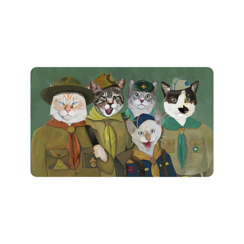 """Cat Scouts Troop Doormat Doormat 30""""x18"""""""
