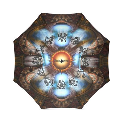 Zodiac Imperial Blue Destiny LV Foldable Umbrella