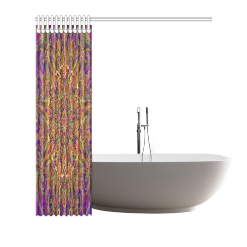 "mandala 10 Shower Curtain 72""x72"""