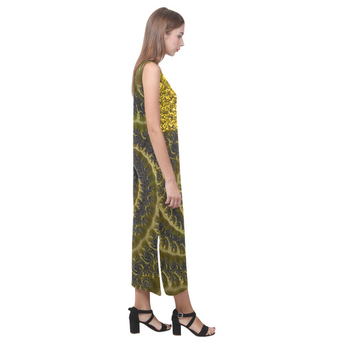 A044 JAMColorMix Phaedra Sleeveless Open Fork Long Dress (Model D08)
