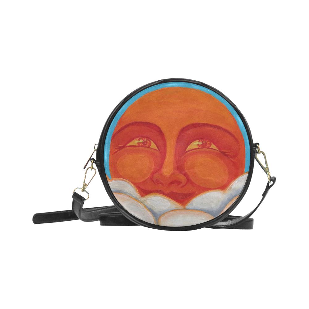 Celestial #1 Round Sling Bag (Model 1647)