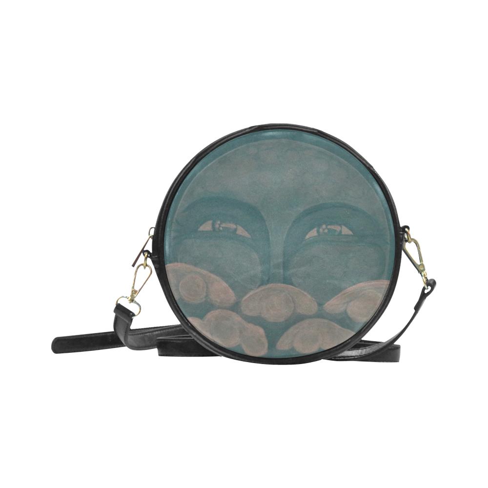 Celestial #8 Round Sling Bag (Model 1647)