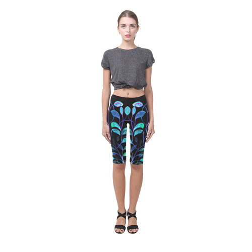 Do not go into the night Hestia Cropped Leggings (Model L03)