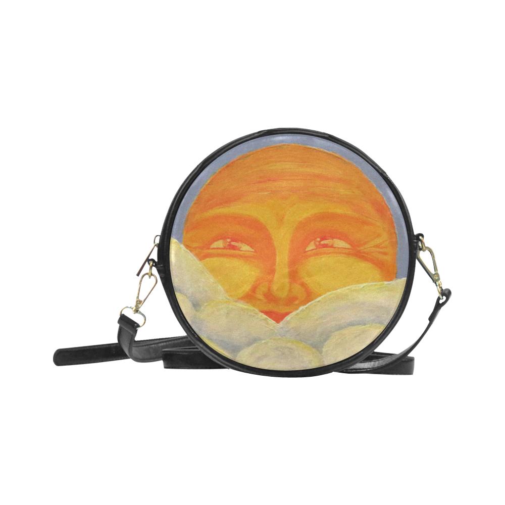 Celestial #2 Round Sling Bag (Model 1647)